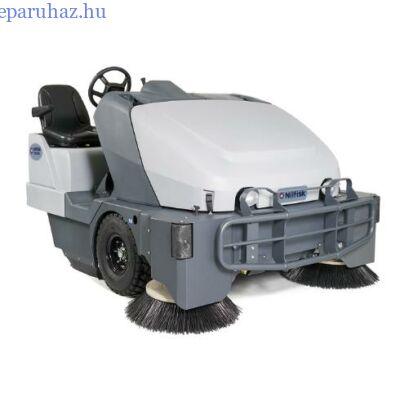 Nilfisk SW 8000 + kabin + fűtés + AC  seprő-szívógép dieselüzemelésű