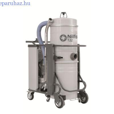 Nilfisk T22 L100 CC 5PP háromfázisú száraz/nedves porszívó