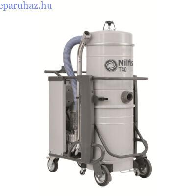 Nilfisk T40 L100 GV CC háromfázisú száraz/nedves porszívó