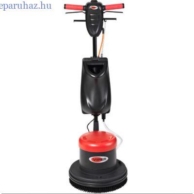 VIPER LS 160 HD alacsony sebességű egytárcsás súroló, kefével, tartállyal, padtartóval