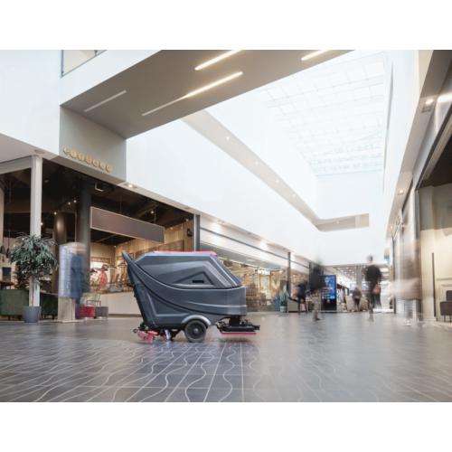 VIPER AS 6690 T közepes méretű padlótisztító, akkumulátoros, önjáró gyalogkíséretű