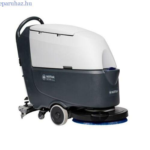 NILFISK-GO SC 530 BD padlótisztító, akkumulátoros, önjáró (töltő + kefe)