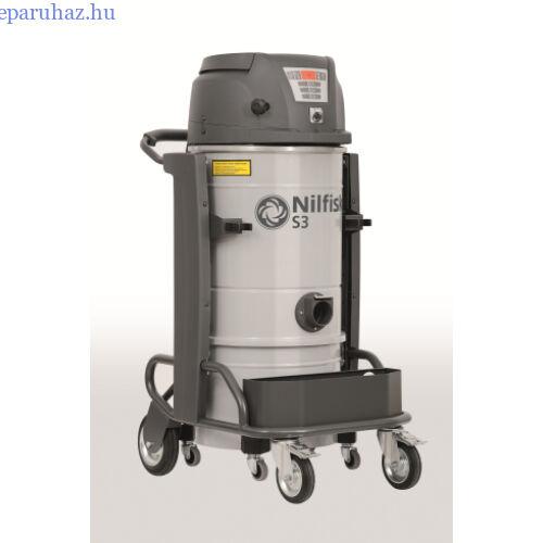 Nilfisk S3 L100 LC L GV CC egyfázisú száraz/nedves porszívó