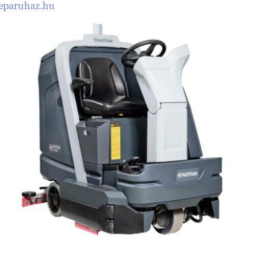 Nilfisk SC6000 910 C vezetőüléses padlótisztító, akkumulátoros