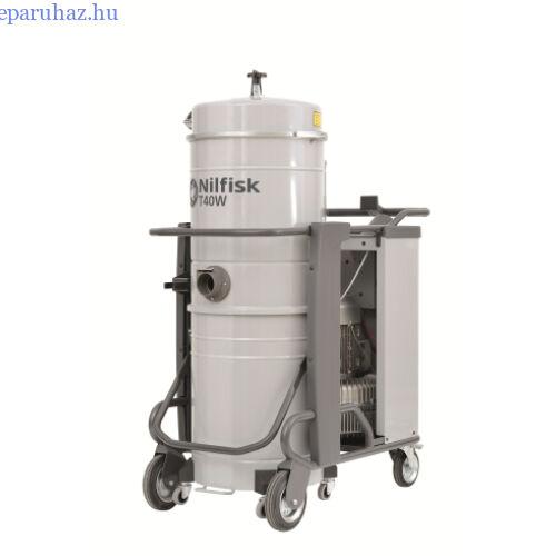 Nilfisk T40W L100 CC 5PP háromfázisú száraz/nedves porszívó