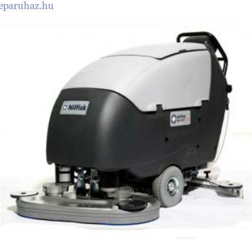 Nilfisk BA 751 C padlótisztító, akkumulátoros, önjáró