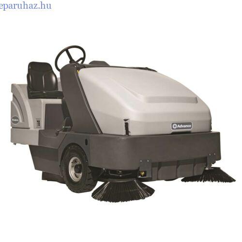 Nilfisk SW 8000 LPG + kabin + fűtés + AC seprő-szívógép LPG üzemelésű
