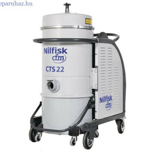 Nilfisk CTS22 HC 5PP háromfázisú száraz porszívó
