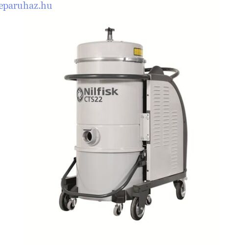Nilfisk CTS22 LC 5PP háromfázisú száraz porszívó