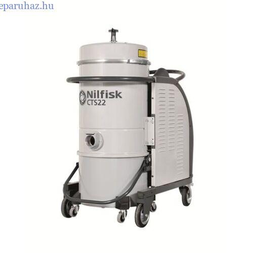 Nilfisk CTS22 MC SBS 5PP háromfázisú száraz porszívó
