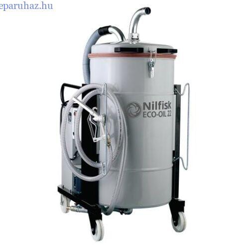 Nilfisk ECOIL22 5PP hűtő/kenőfolyadék felszívó ipari porszívó