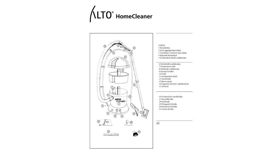 Nilfisk-BLUE HOME CLEANER kárpittisztító